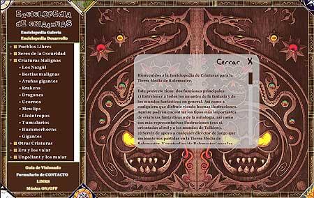 Enciclopedia de criaturas v. 3.0.1