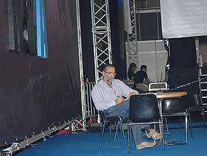 El galardonado director porno Mario Salieri