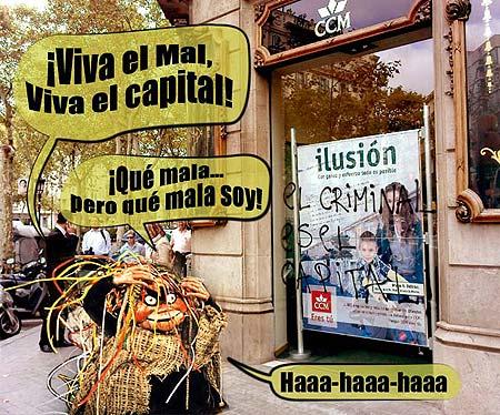 ¡Miva el mal, viva el capital!