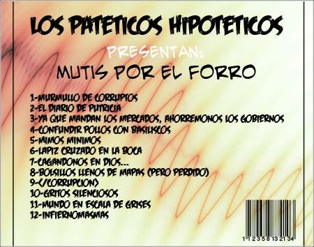 Cuarto disco de Los Patéticos Hipotéticos