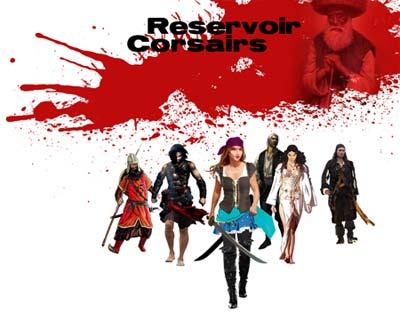 Diseño conceptual basado en el film de Tarantino para el grupo 3 de la partida