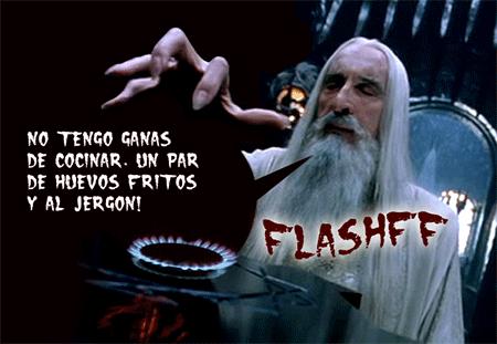 Saruman en la cocina de Isengard